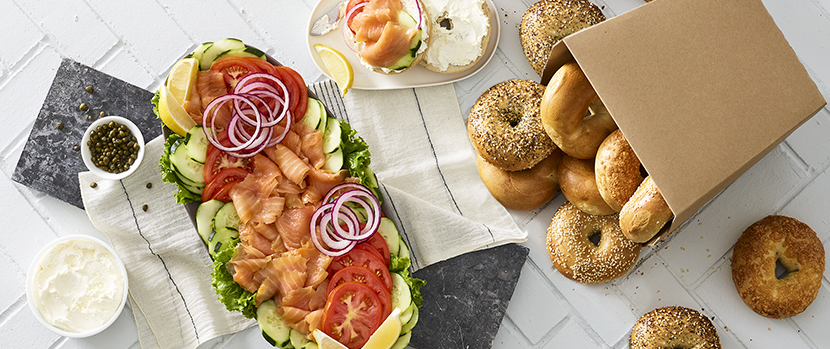 Salmon & Bagels group