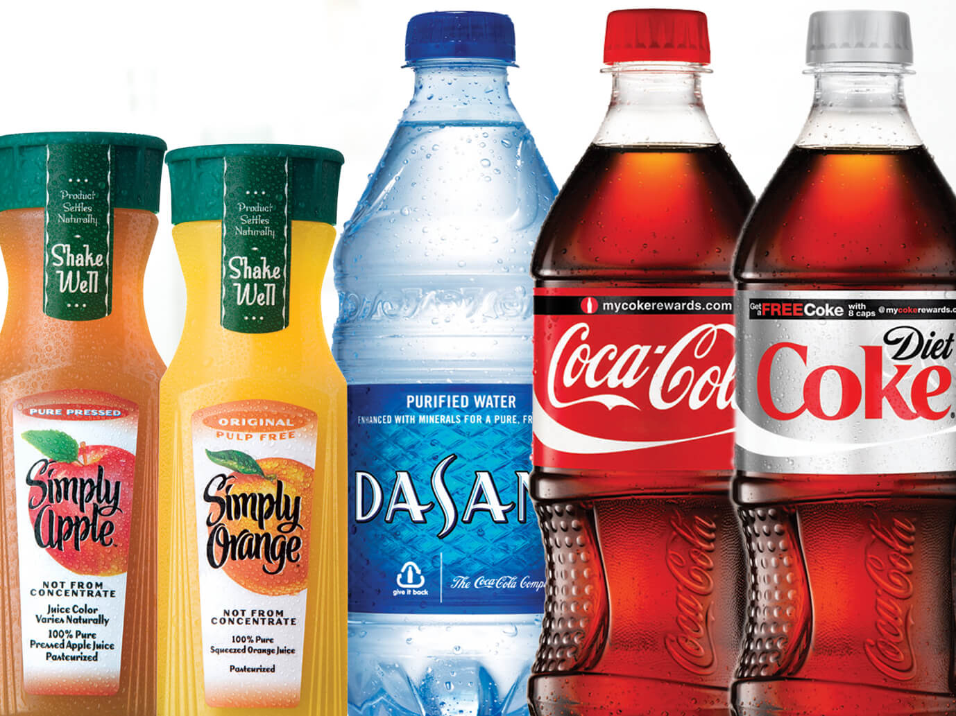 Individual Bottled Beverages